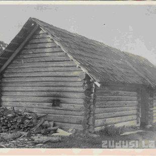 Strazdu pagasta pirts Gulbenes novadā, XIX gs.